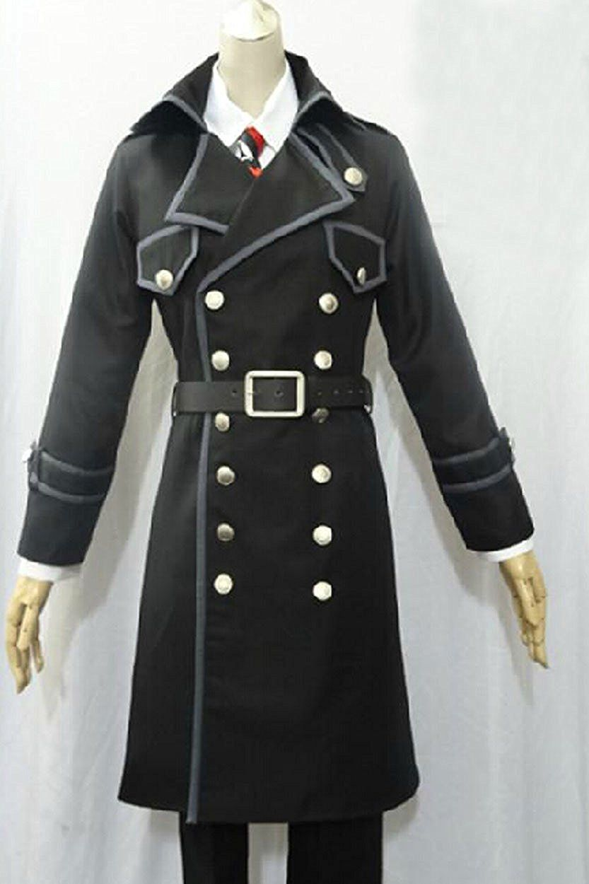 Relaxcos Ao no Exorcist Okumura Rin Long Coat Sets Cosplay Costume * Be sure to check out this awesome product.