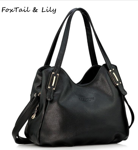 FoxTail   Lily Genuine Leather Bag for Women Luxury Brand Designer Real Leather  Handbags Ladies Casual Shoulder Messenger Bags 34cc8792ed1df