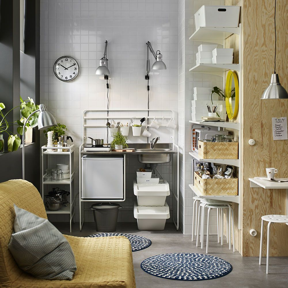 How to make the most of a small kitchen Ikea kitchen