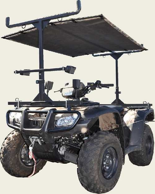Gear Gator ATV Rack | ATV | Atv racks, Atv trailers, Atv ...