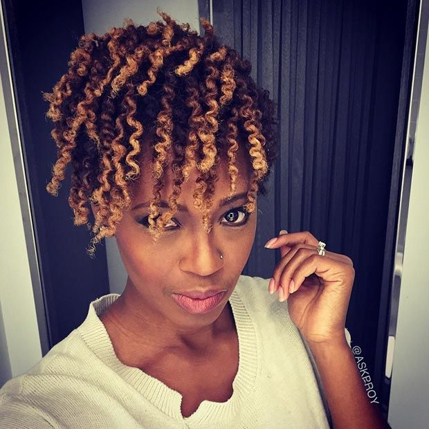 Quick Hairstyles For Short Natural African American Hair Simple 50 Short Hairstyles For Black Women  Short Hairstyle Curled