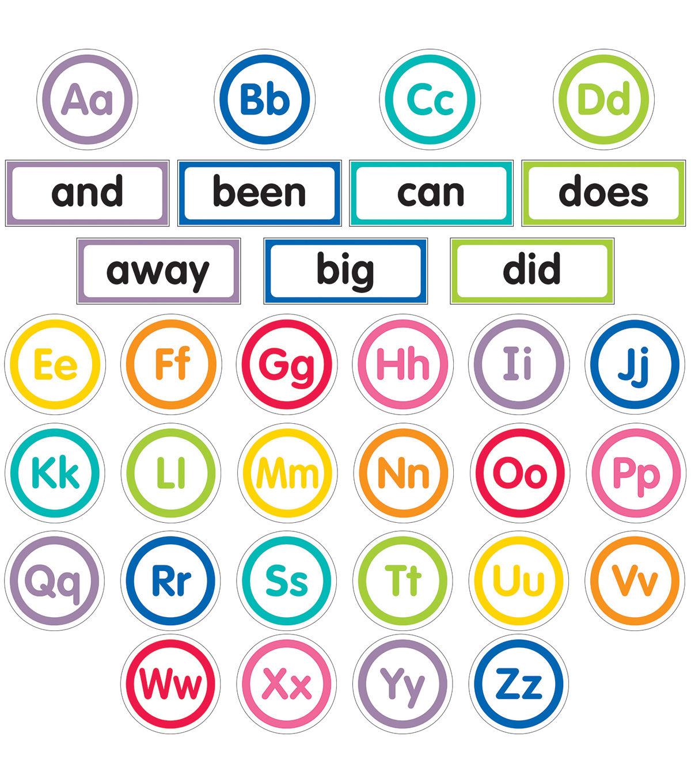 just teach word wall bulletin board set word wall on word wall id=76081