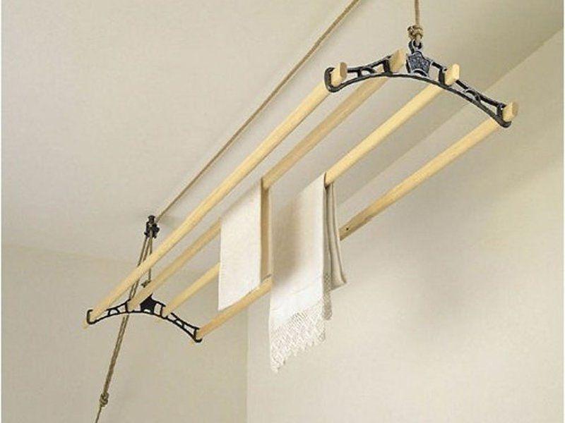 потолочная сушилка для белья на балкон выбор монтаж изготовление