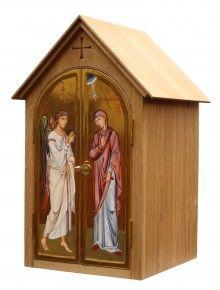Home Altar Adornment Contemporary Religious Icon Saints Art Holy Art Religious Decor Wall Art Jesus Art