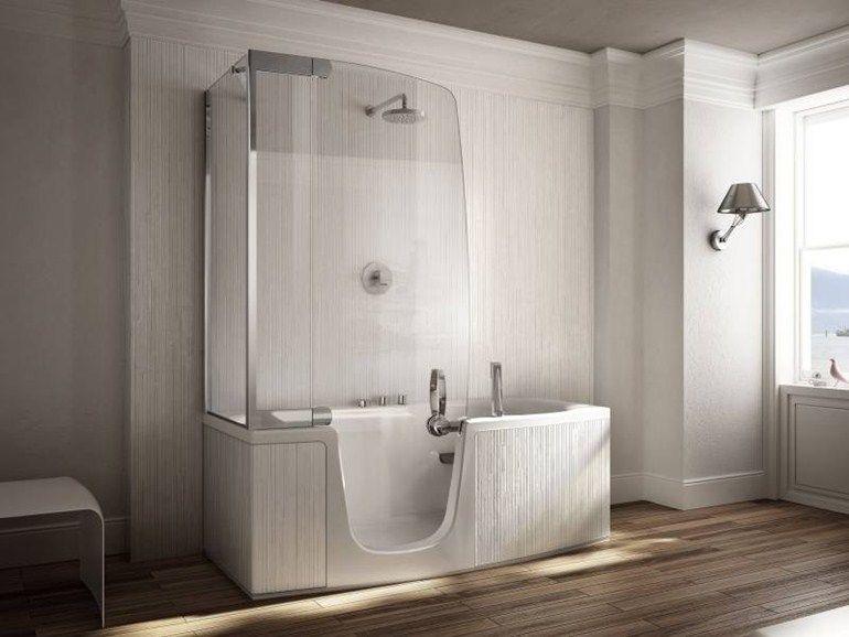 Vasca da bagno con doccia 382-384-385 by TEUCO   VASCHE DA BAGNO ...