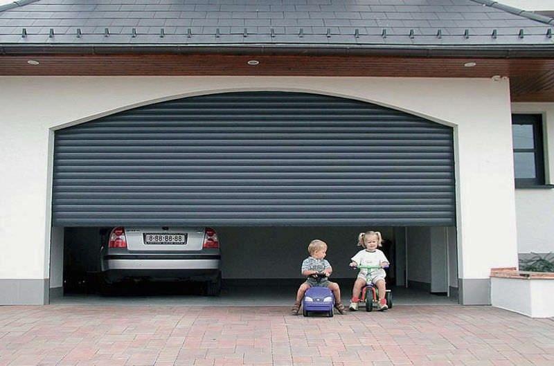Rollup Garage Door
