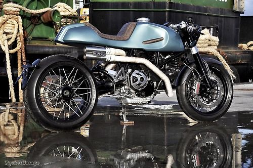 Augh Monster Cafe Racer #motorcycles #caferacer #motos   caferacerpasion.com