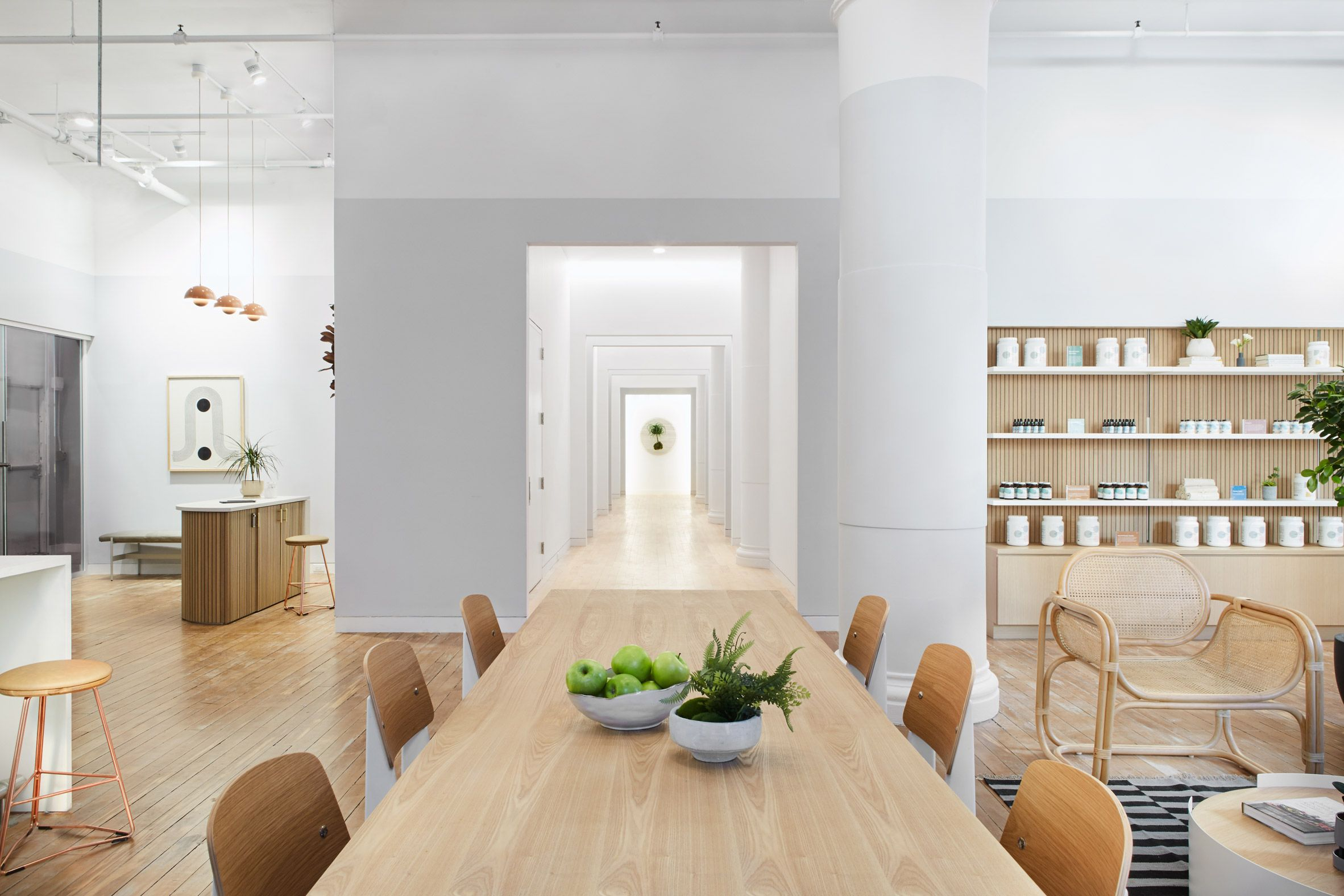Earthy and homey details feature in New York's Parsley ...