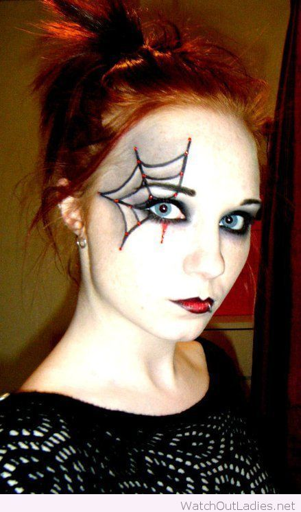 Spider Halloween makeup inspiration | watchoutladies.net ...
