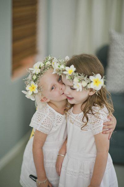 Blumenmadchen Blumenkinder Hochzeit Kleider Blumenkranz