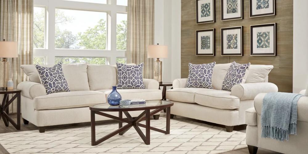 Emsworth Beige 5 Pc Living Room Rooms To Go Living Room Sets