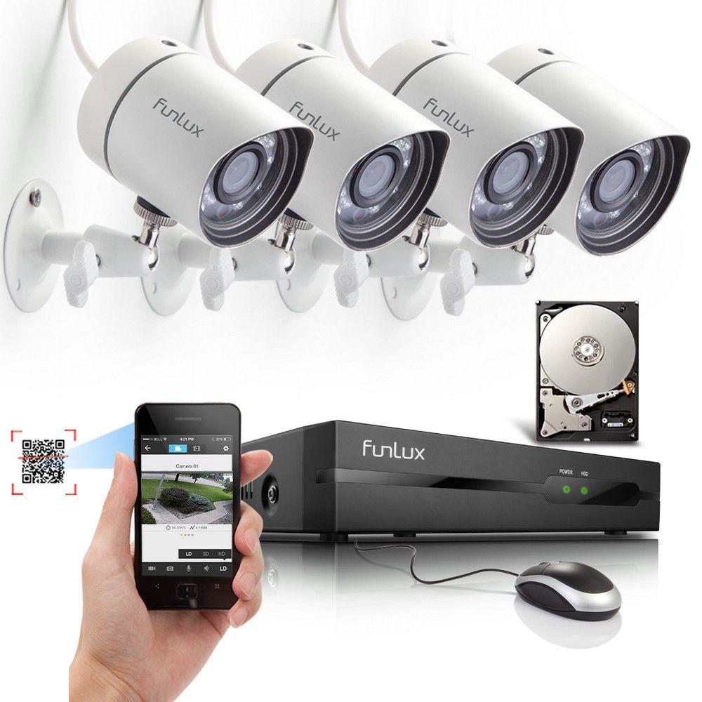 Zmodo 720P HD Pan Tilt Wireless IP Network IR Home Surveillance ...