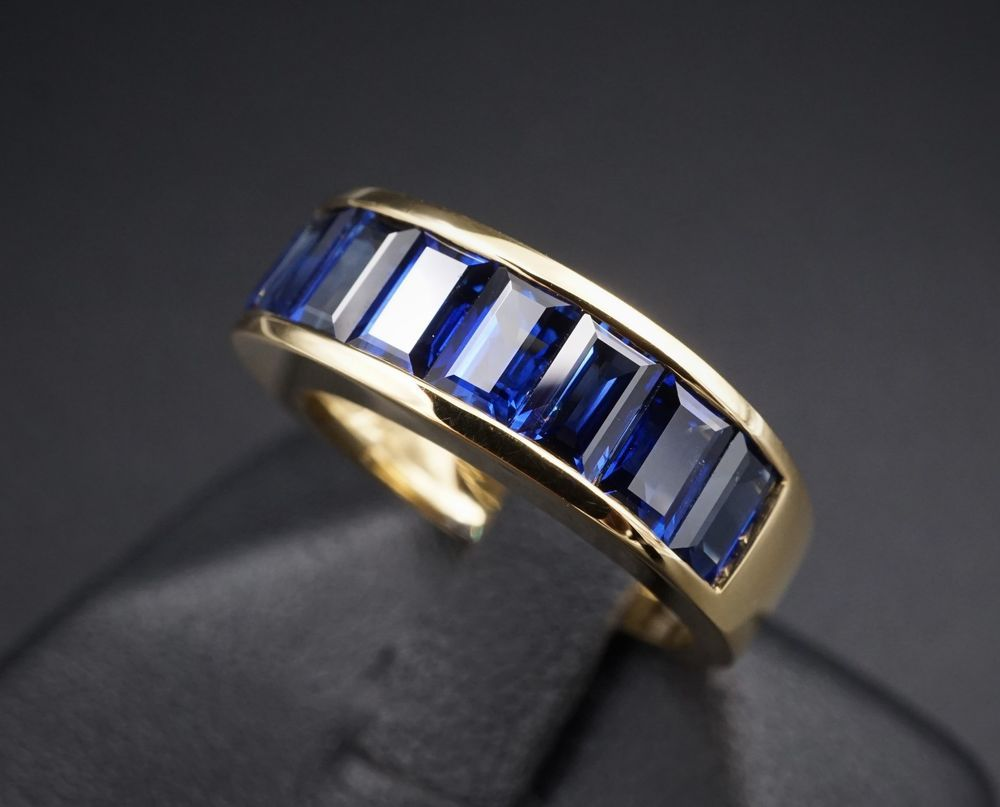 white gold g h diamond itm designs noray ring blue and sapphire tdw