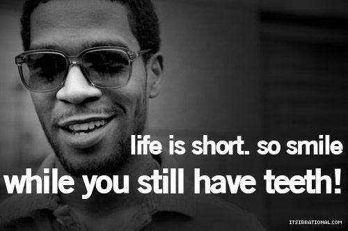 Kid Cudi Quote: Smile :-D Hehe #kid Cudi Quote