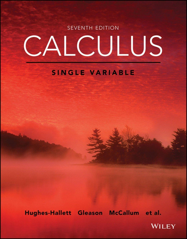 Calculus Howard Anton 7th Edition Solution Manual