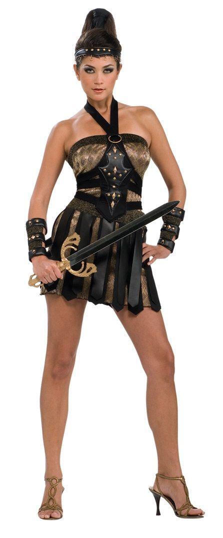 Female Gladiator Costume | Home u003eu003e Gladiator Costumes u003eu003e Sexy Roman Warrior Queen Costume  sc 1 st  Pinterest & Female Gladiator Costume | Home u003eu003e Gladiator Costumes u003eu003e Sexy Roman ...