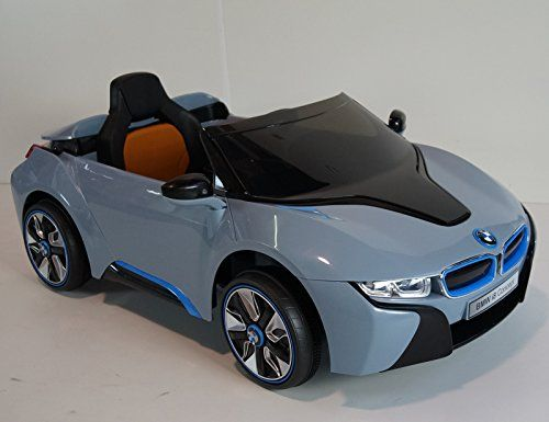12v Ride On Bmw I8 Concept Licensed Car Toy For Kids Boys And Girls
