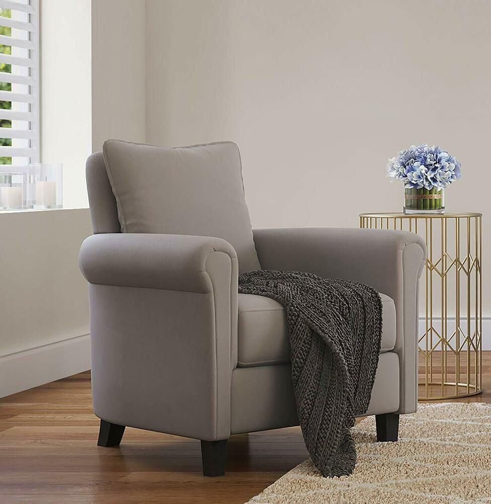 Serta Uph10031c Jackson Accent Chair Beige Serta With Images Beige Living Rooms Taupe Living Room Classic Living Room
