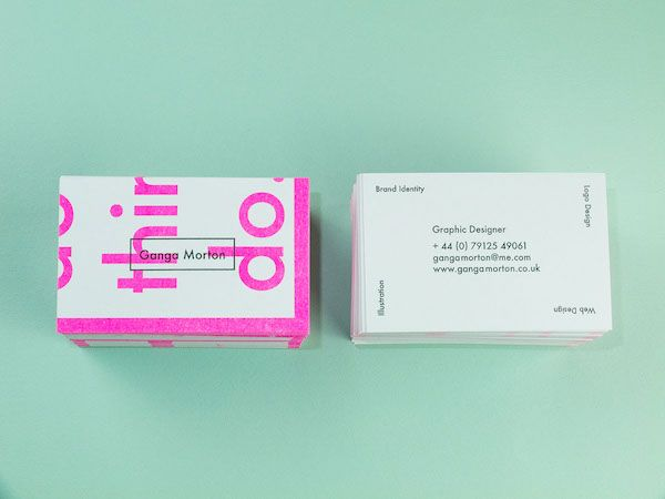 Bright Creative Business Cards Piece Together To Form An Inspiring Quote Designtaxi