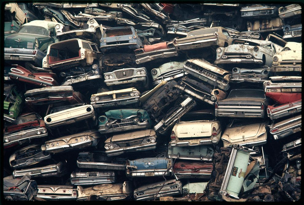 LE CONTAINER Abandoned cars, Abandoned, Junkyard