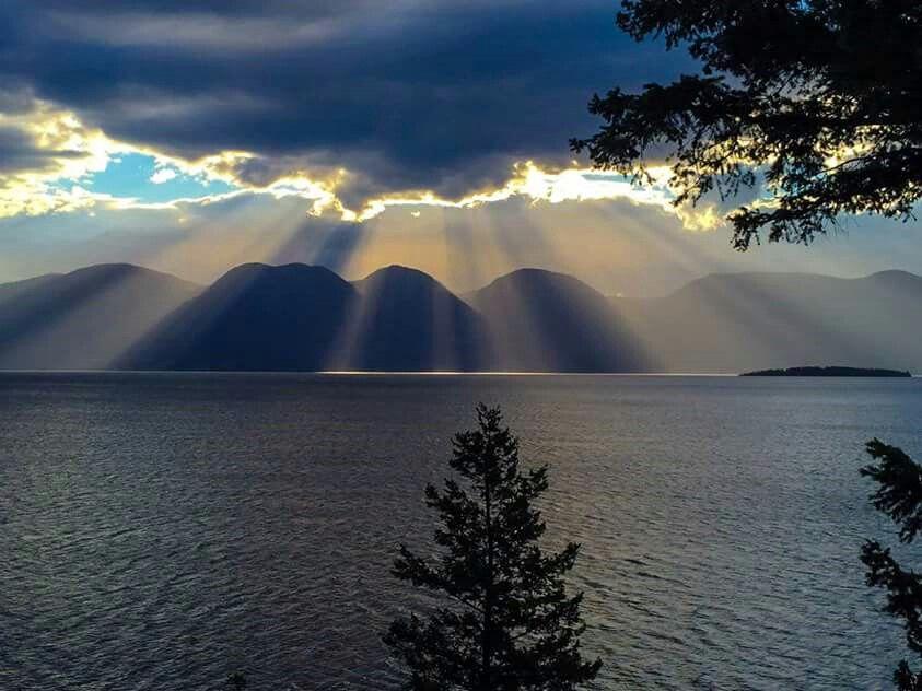 Flathead Lake, Mt.