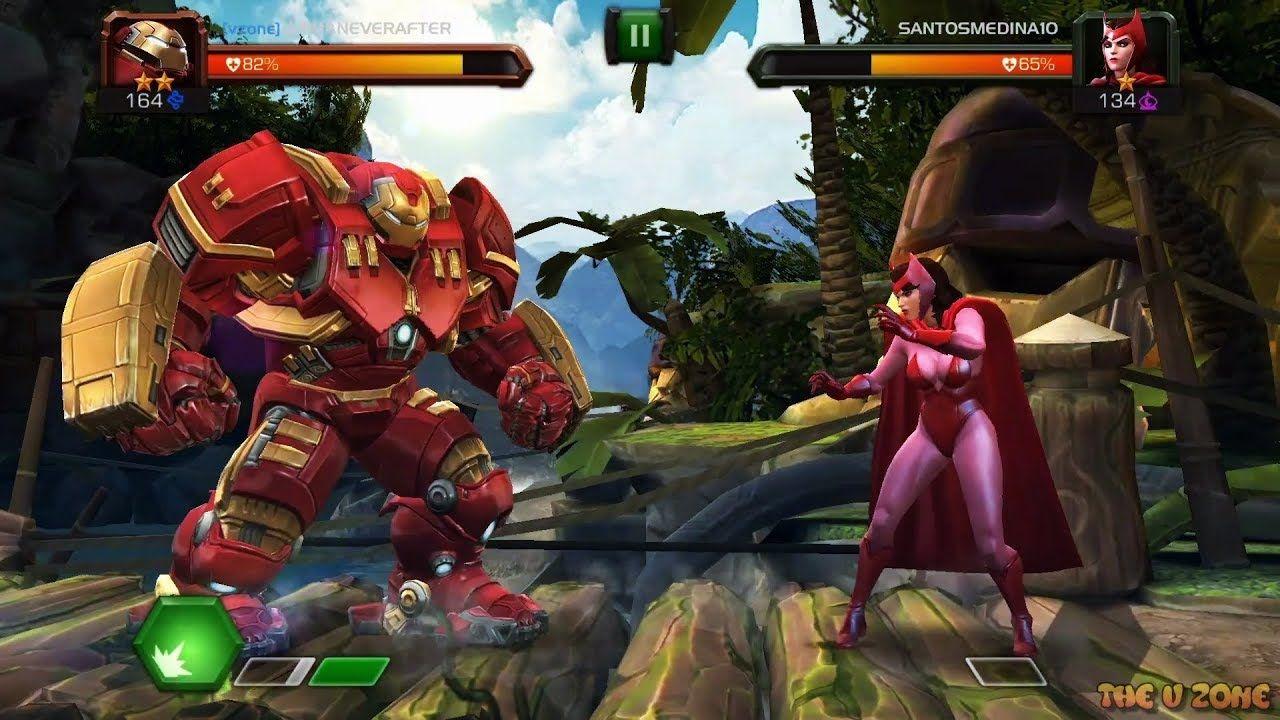3v3 Arena Battle vs SantosMedina101 Marvel Contest of