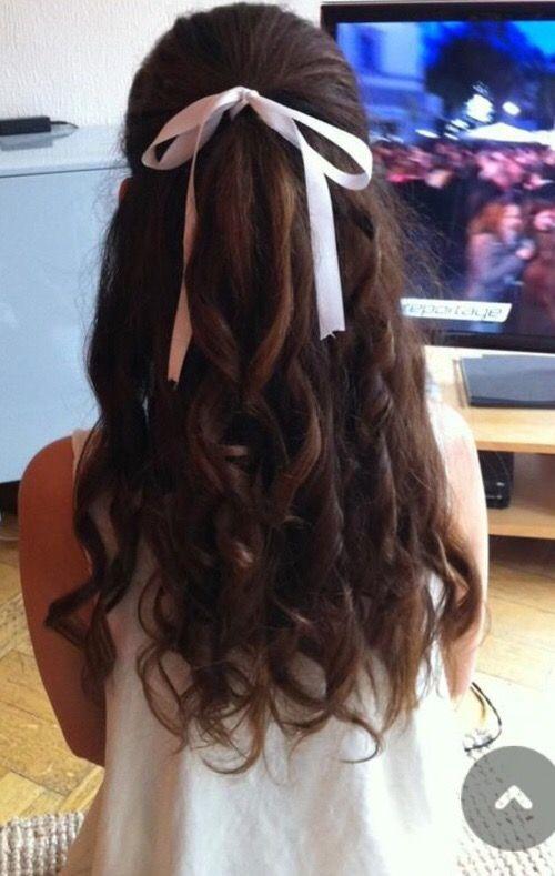 Bow Hairstyle Pindejionna Marie On Hair Makeup Nails  Pinterest  Hair