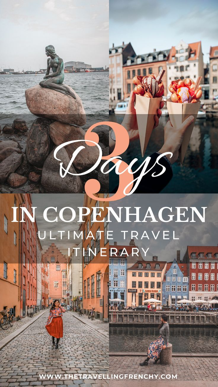 If you're planning on going to Copenhagen, Denmark for a long weekend below is my perfect 3-day travel guide and itinerary in this beautiful and vibrant city! #Copenhagen #Denmark #TravelBlogger #TravelGuide