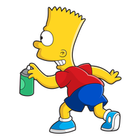 Bart Simpson Png Images High Quality And Best Resolution Pictures And Cliparts With Transparent Backgrou Los Simpson Png Imagenes De Bart Simpson Los Simpson
