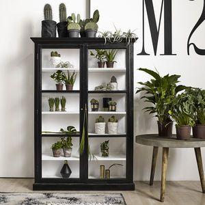 distressed wood and glass cabinet minimal home interior gardeninterior
