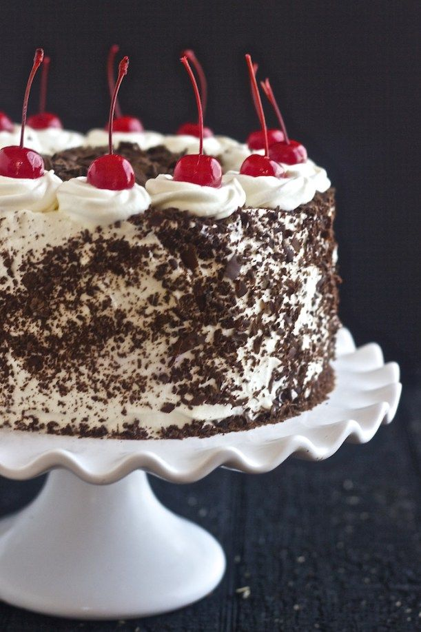 Black Forest Cake Chocolate Cake Best German Black Forest Cake