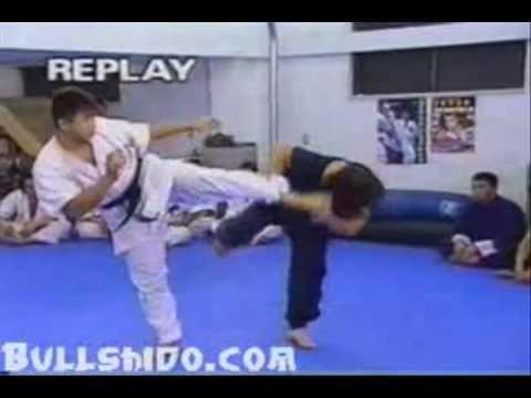 Drunken Style Kung Fu Vs. Karate -Bullshido.net