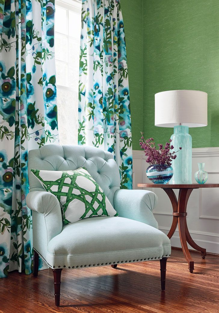 New textile and wallpaper collections by Thibaut