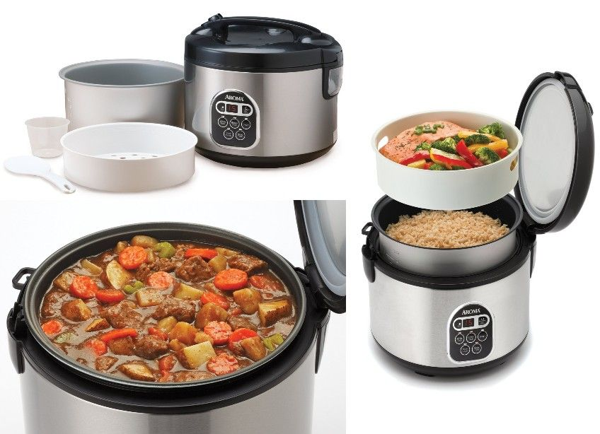 Aroma Digital Rice Cooker Food Steamer http://computer-s.com/rice-cookers/aroma-digital-rice-cooker-and-food-steamer/