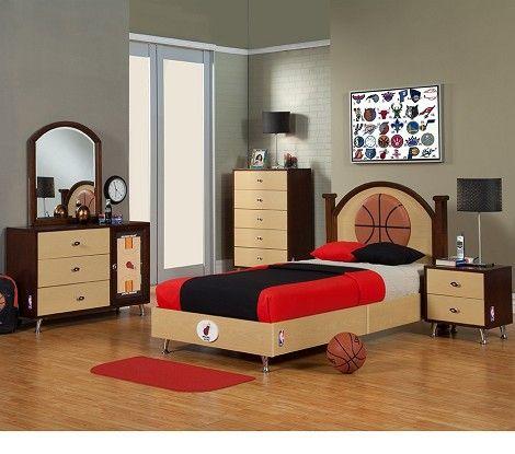 Nba Basketball Miami Heat Bedroom In A