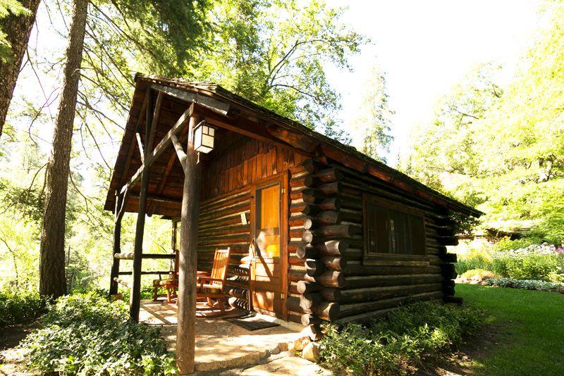 Cabin 1 at Garland's Oak Creek Lodge in Sedona, Arizona