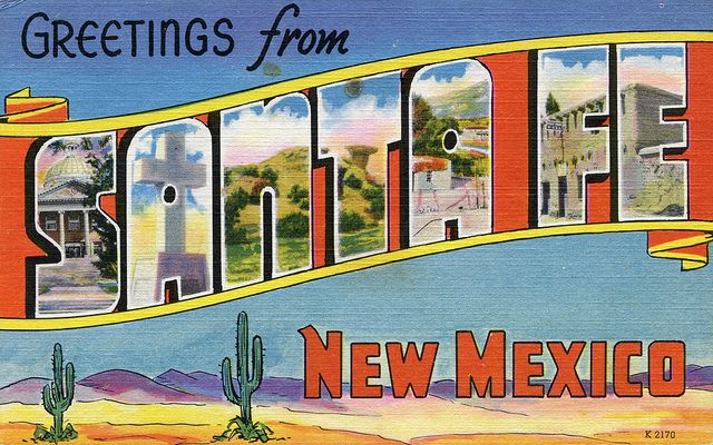 santa fe travel guide compilation    the english room blog