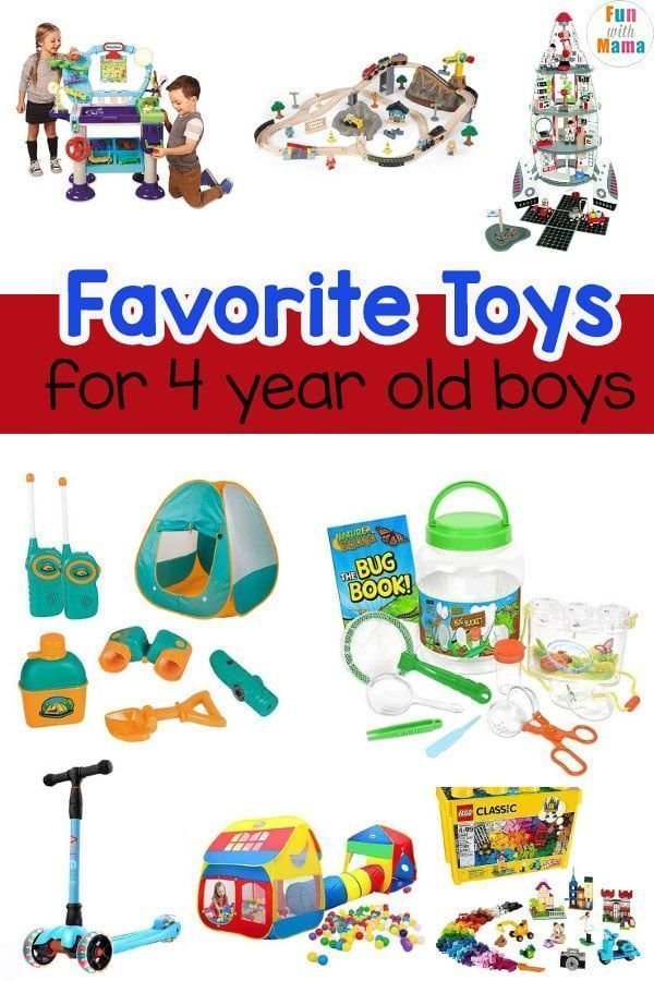 Favorite Toys for 4 Year Old Boys | Kids toys for boys, 4 ...