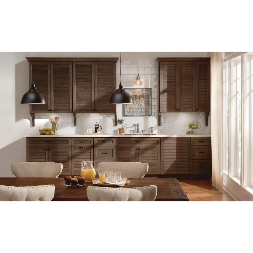 The Home Depot Installed Cabinet Makeover Rustic Doors ...