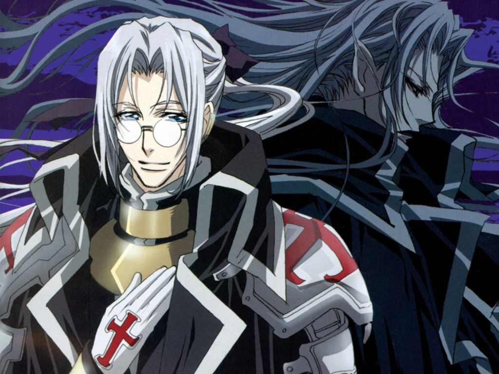 Trinity Blood Father Nightroad Trinity blood, Anime