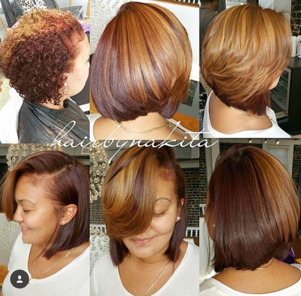 Two tone hair tips hair care pinterest hair style hair love this blowout and bob transformation styled by fandeluxe Epub