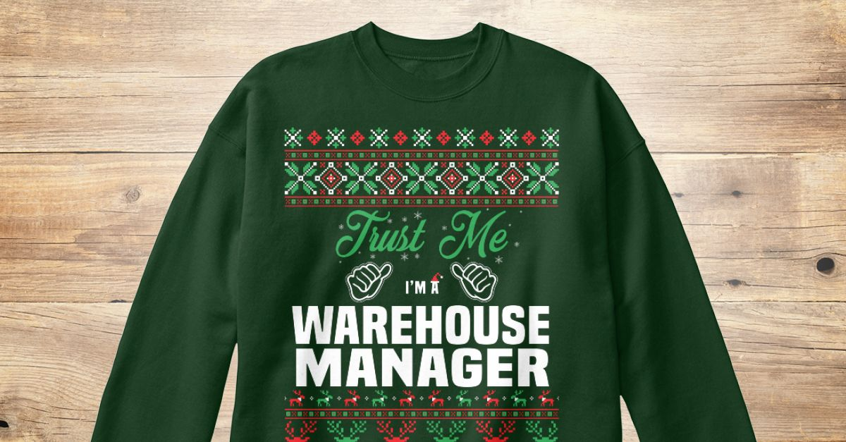 If You Proud Your Job, This Shirt Makes A Great Gift For You And - warehouse manager job description