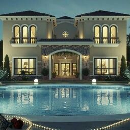 Home big swimming pool