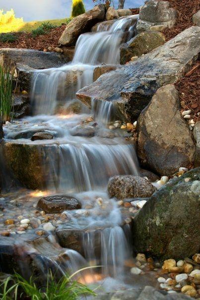 Pin de hh en Natural pools Pinterest Cascadas, Fuentes y Fuentes - fuentes de cascada