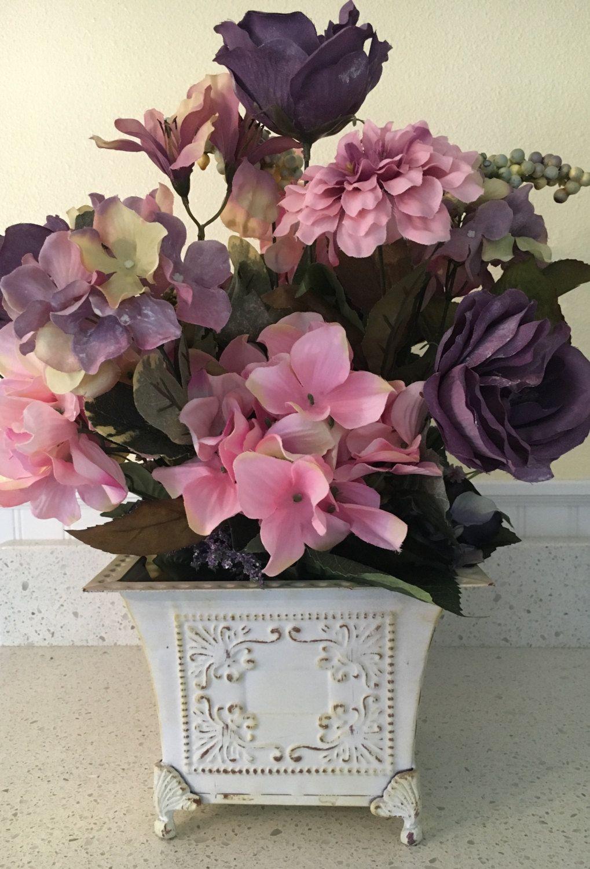 Shabby chic decor floral home decor floral centerpiece floral shabby chic decor floral home decor floral centerpiece floral arrangement flower arrangement teraionfo
