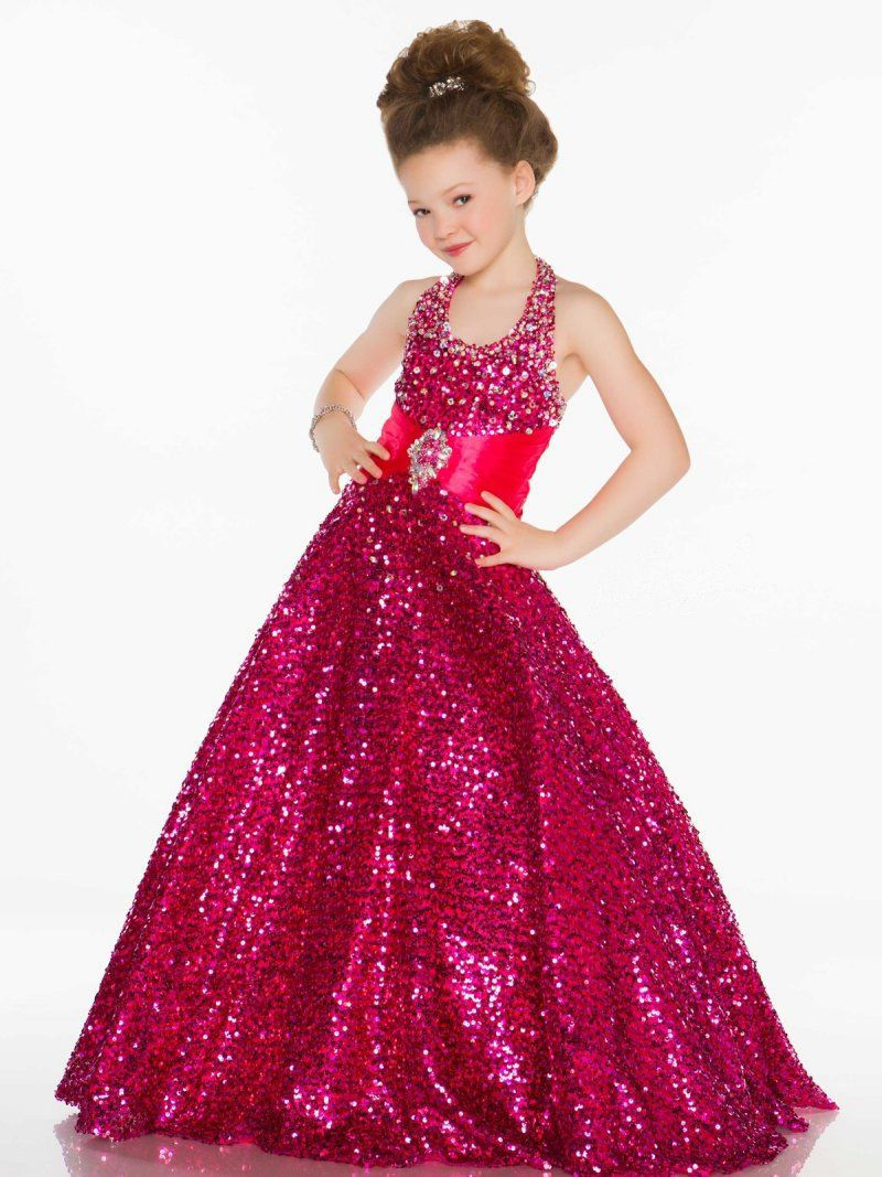 Cheap sequin pageant dresses