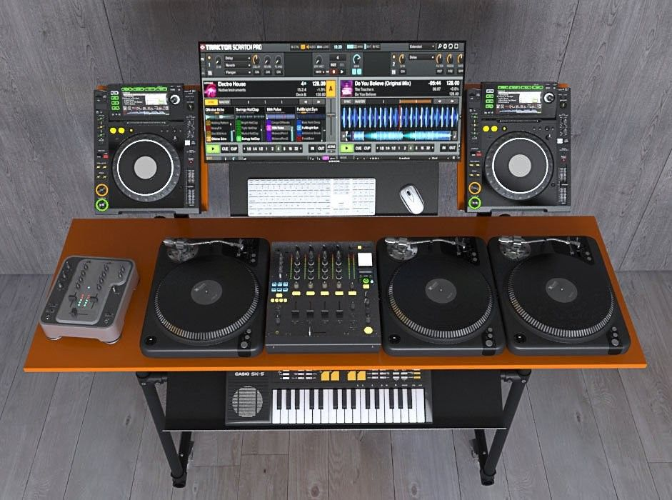 Pin by Charlie on DJ Tables Dj equipment, Dj booth, Dj sound