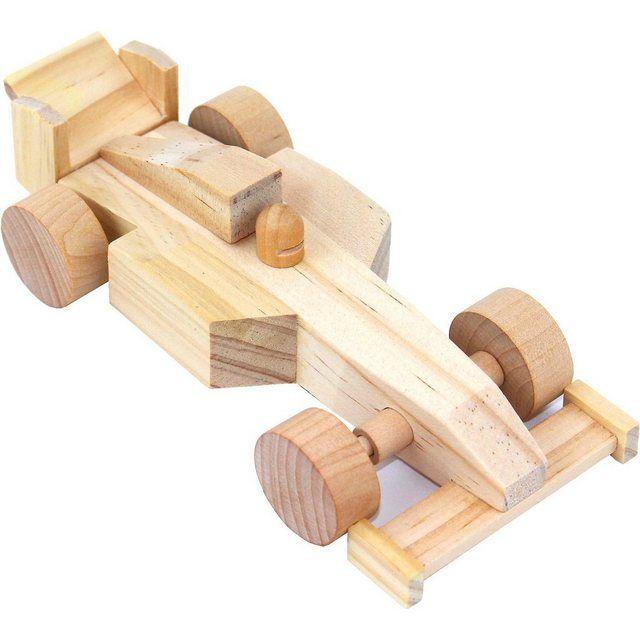 EDUPLAY Holzbausatz Rennauto online kaufen   Holzspielzeug ...