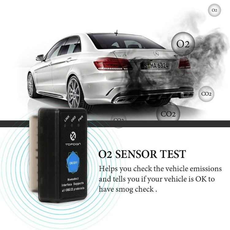 OBD2 Scanner Bluetooth TOPDON AutoMate Code Reader