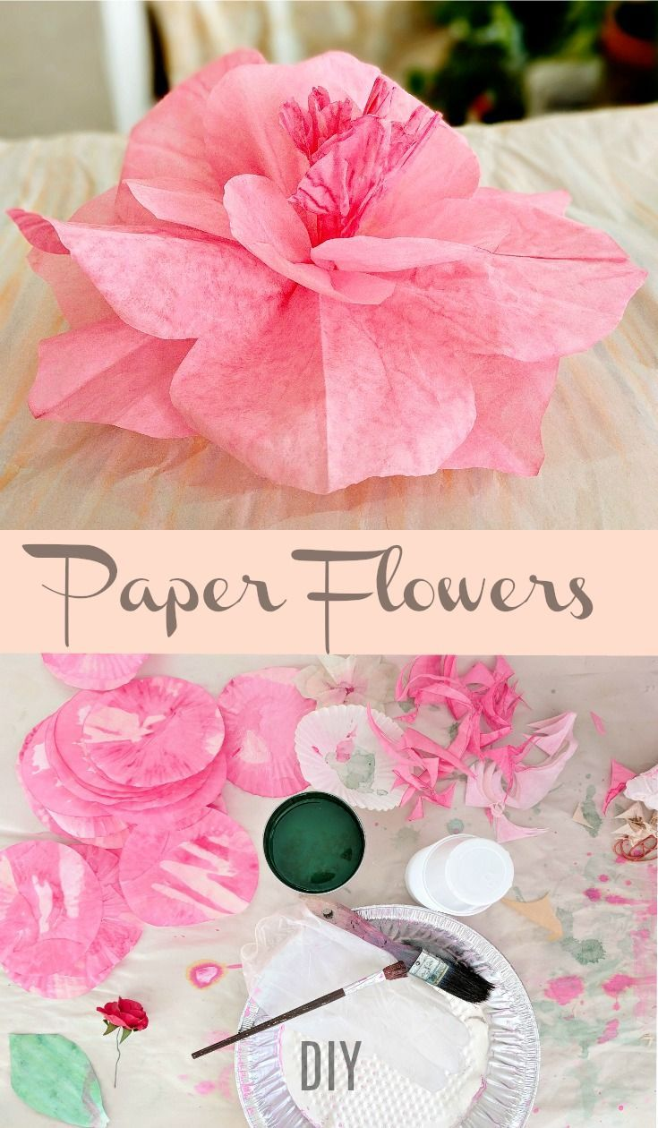 Try Making Coffee Filter Paper Flowers Youll Likely Love Them